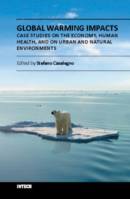 Global Warming Impacts - Case Studies on the Economy, Human Health, and on Urban and Natural Environments