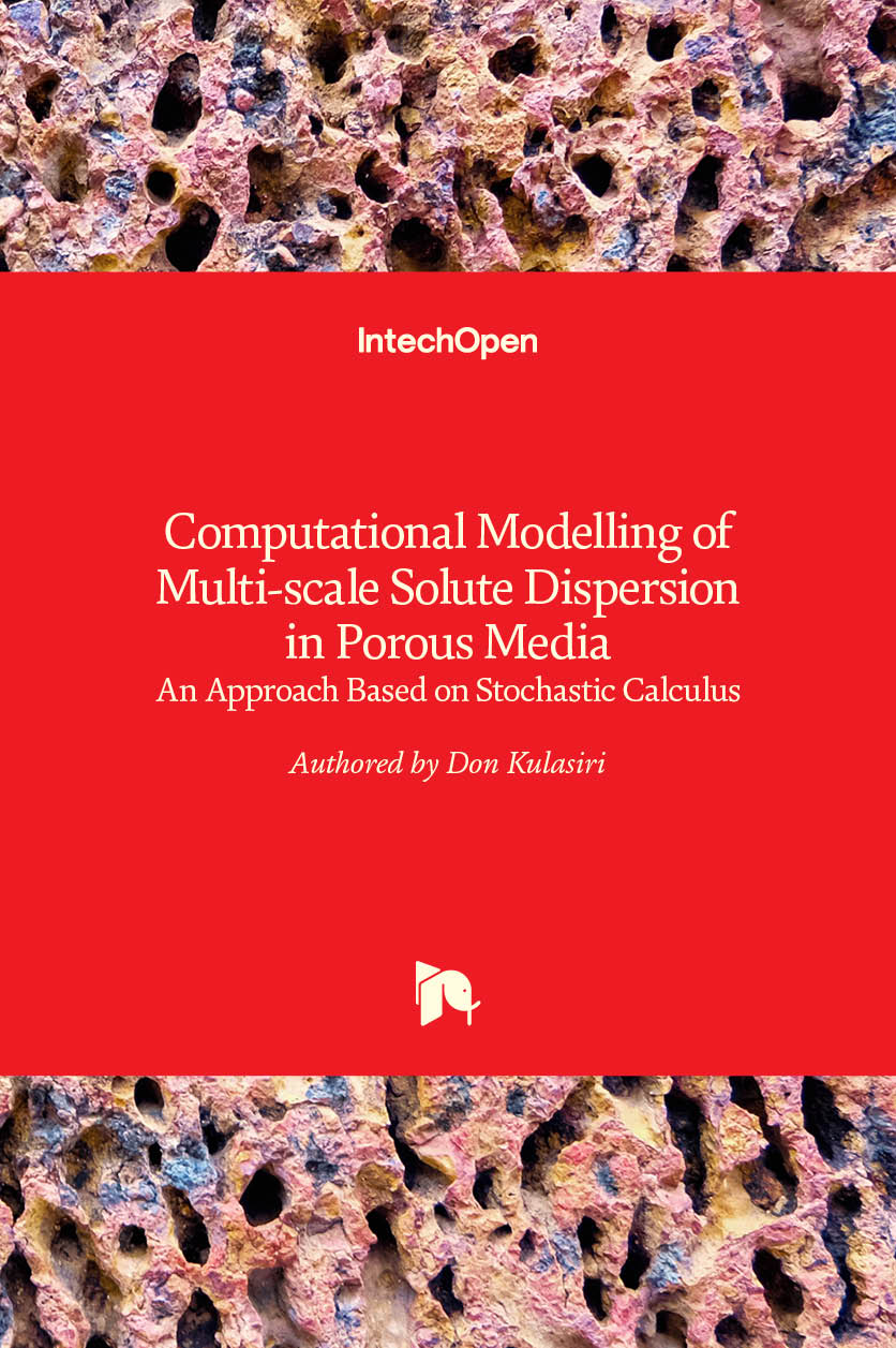 Computational Modelling of Multi-scale Solute Dispersion in Porous Media - An Approach Based on Stochastic Calculus