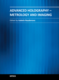Advanced Holography - Metrology and Imaging