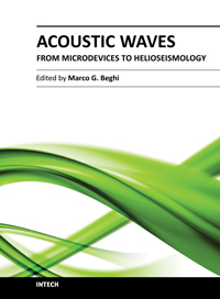 Acoustic Waves - From Microdevices to Helioseismology