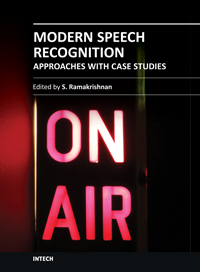 Modern Speech Recognition Approaches with Case Studies