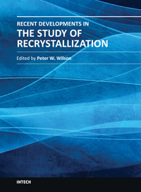 Logo for Recent Developments in the Study of Recrystallization