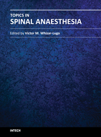Topics in Spinal Anaesthesia
