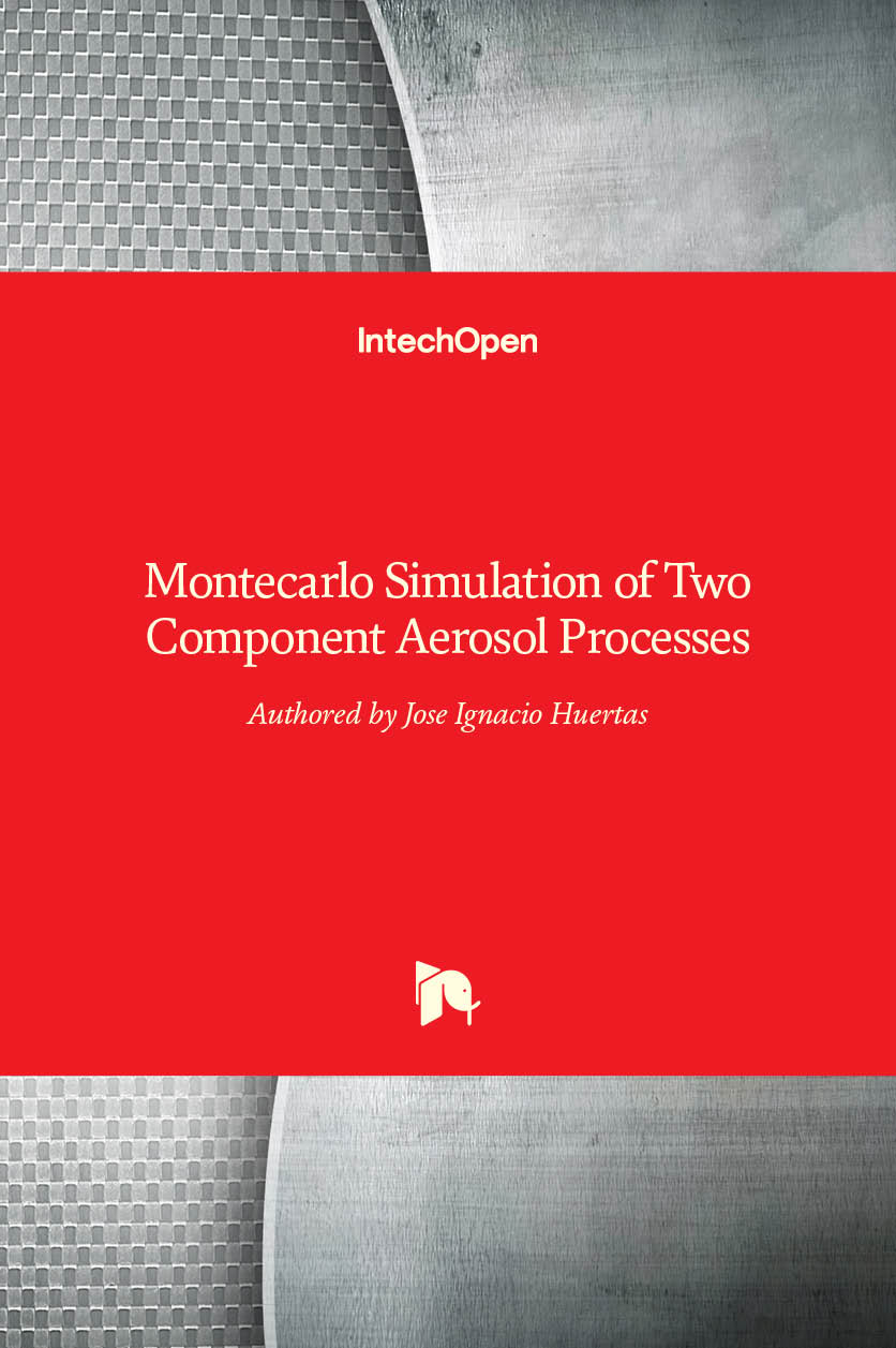 Montecarlo Simulation of Two Component Aerosol Processes