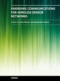 Emerging Communications for Wireless Sensor Networks