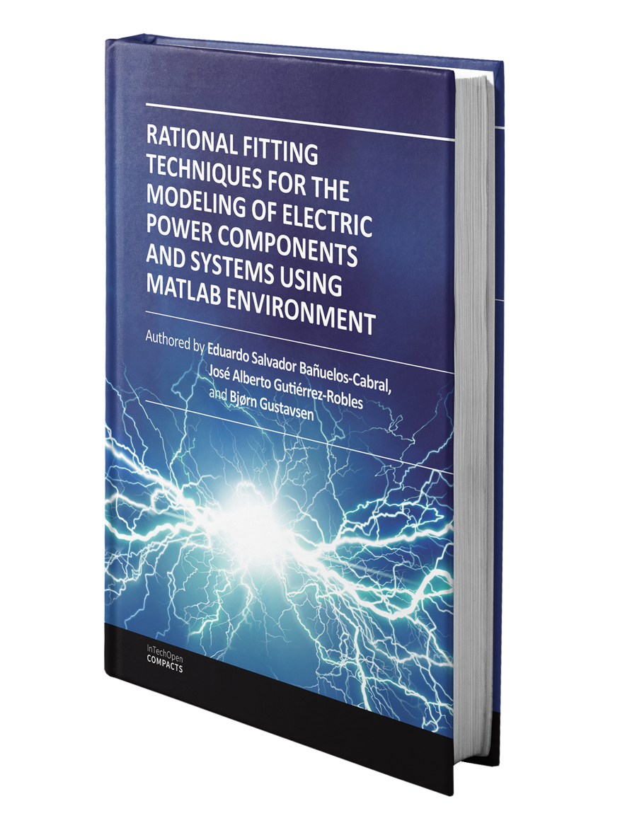 Rational Fitting Techniques for the Modeling of Electric Power Components and Systems Using MATLAB Environment