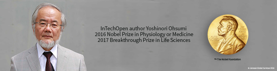 IntechOpen author Yoshinori Ohsumi awarded the 2016 Nobel Prize in Physiology or Medicine